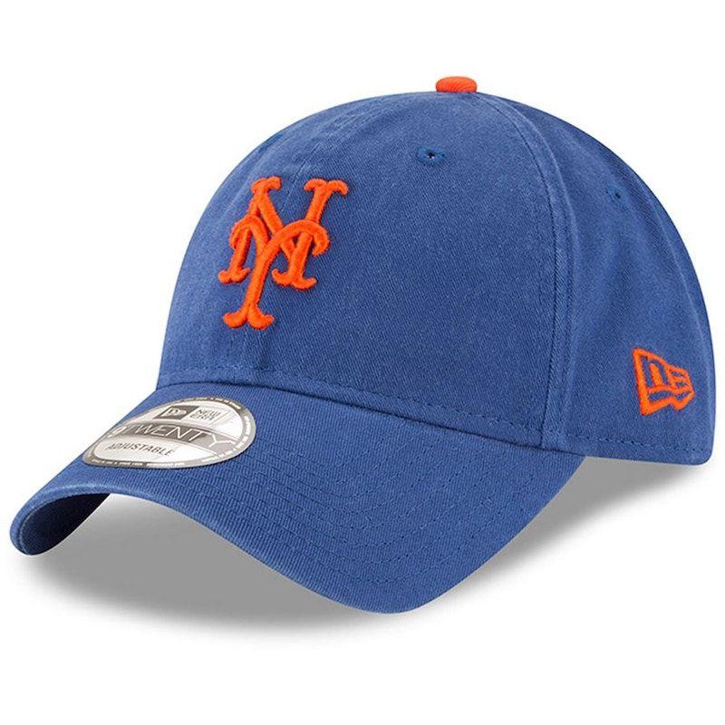 New York Mets New Era Royal Game Replica Core Classic 9TWENTY Adjustable Hat