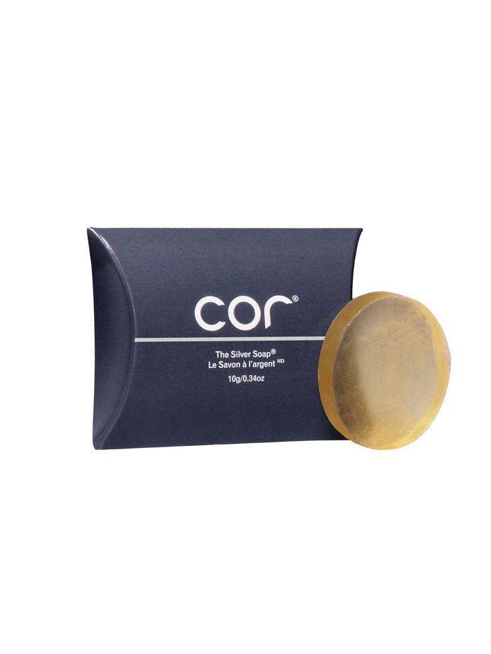 silver in skincare: soap