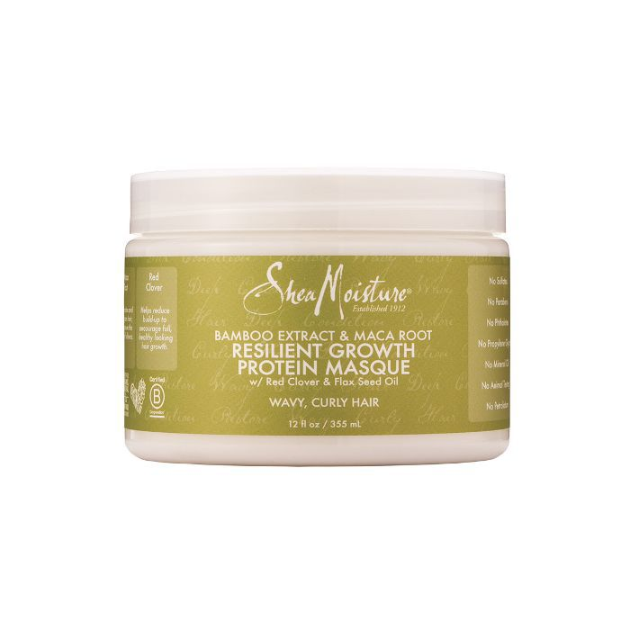SheaMoisture Bamboo & Maca Root Resilient Growth Protein Masque