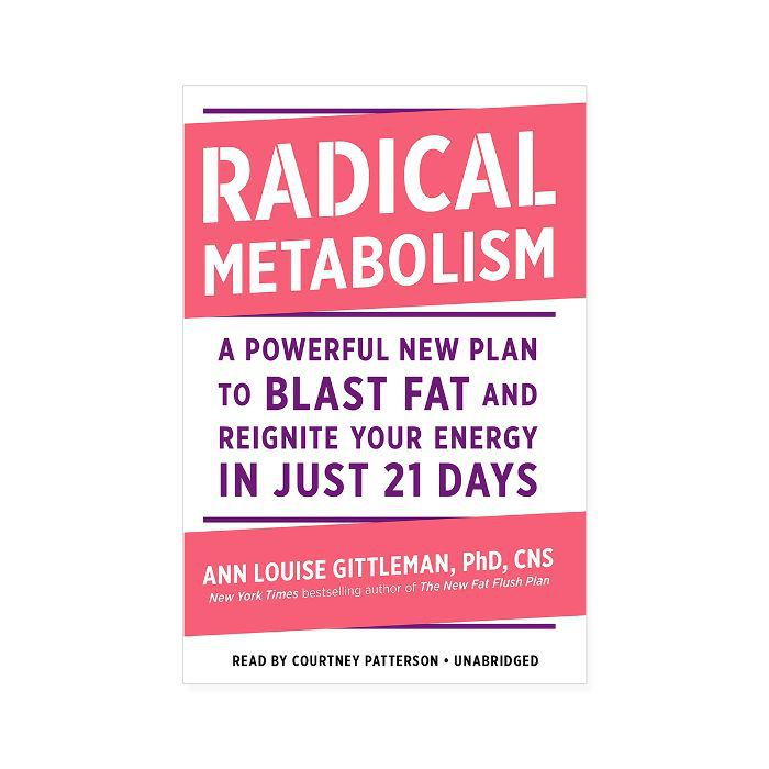 Ann Louise Gittleman, Ph.D., CNS Radical Metabolism: A Powerful New Plan to Blast Fat and Reignite Your Energy in Just 21 Days