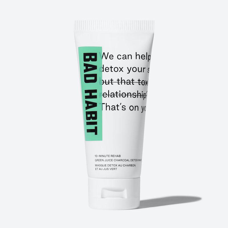 BAd Habit detox mask tube