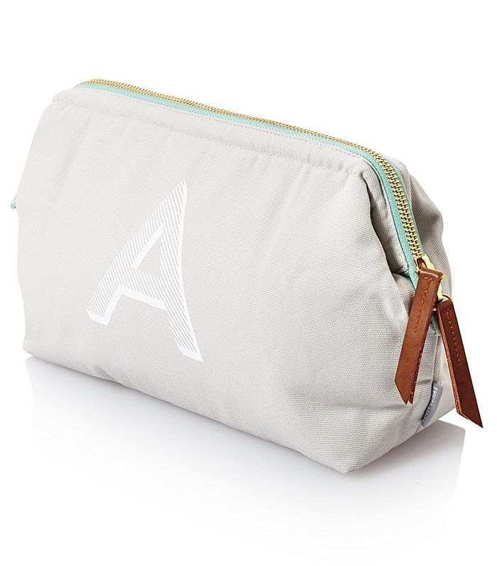 Oliver Bonas Alphabet Wash Bag