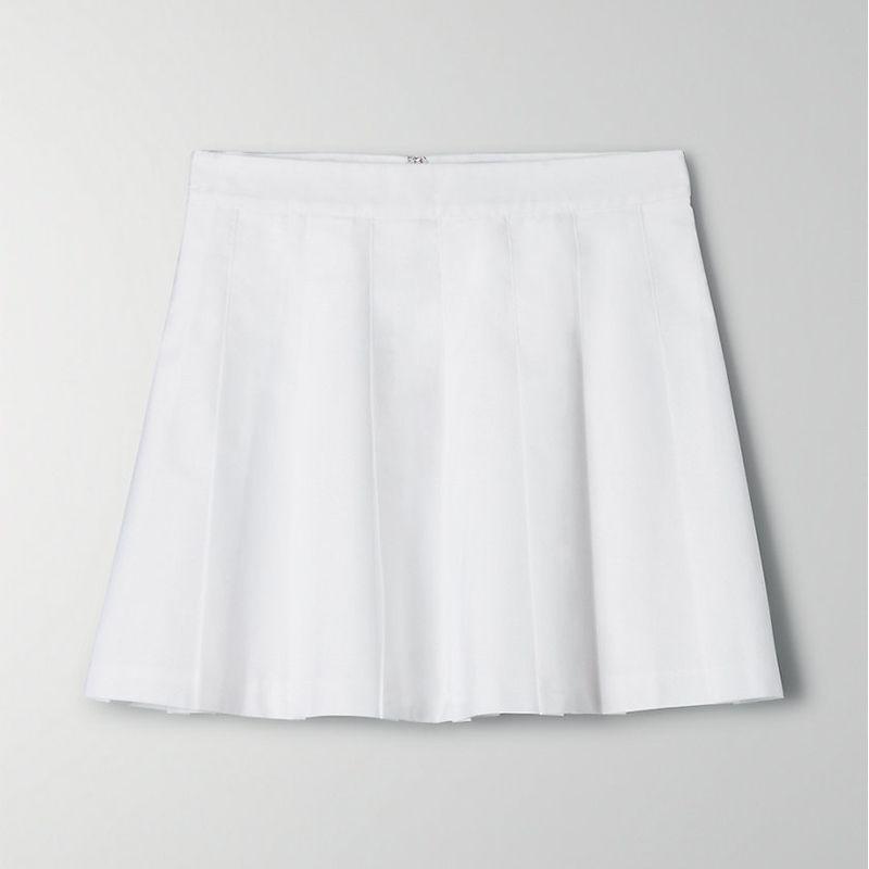 Sunday Best Olive Skirt