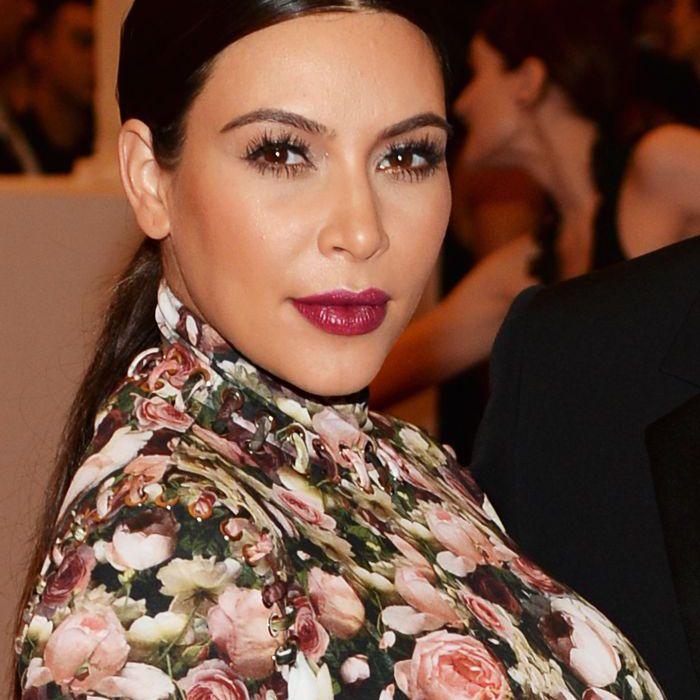 Kim Kardashian Makeup Looks, 2013