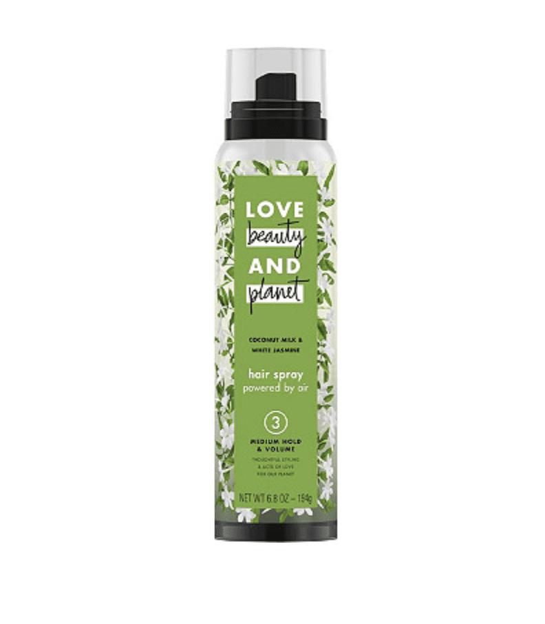 Medium Hold & Volume Coconut Milk & White Jasmine Hair Spray