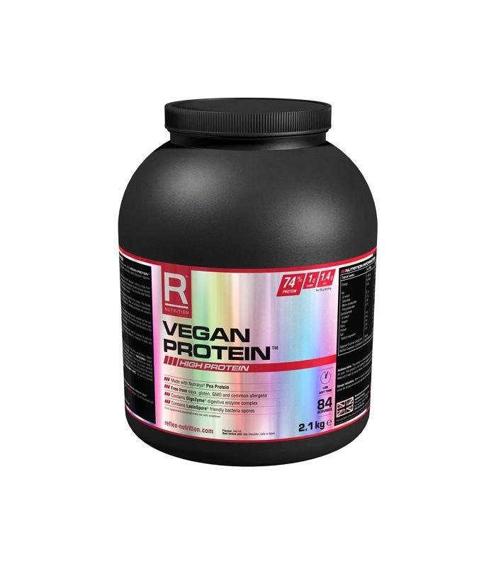 Twice the Health interview: Reflex Vegan protein