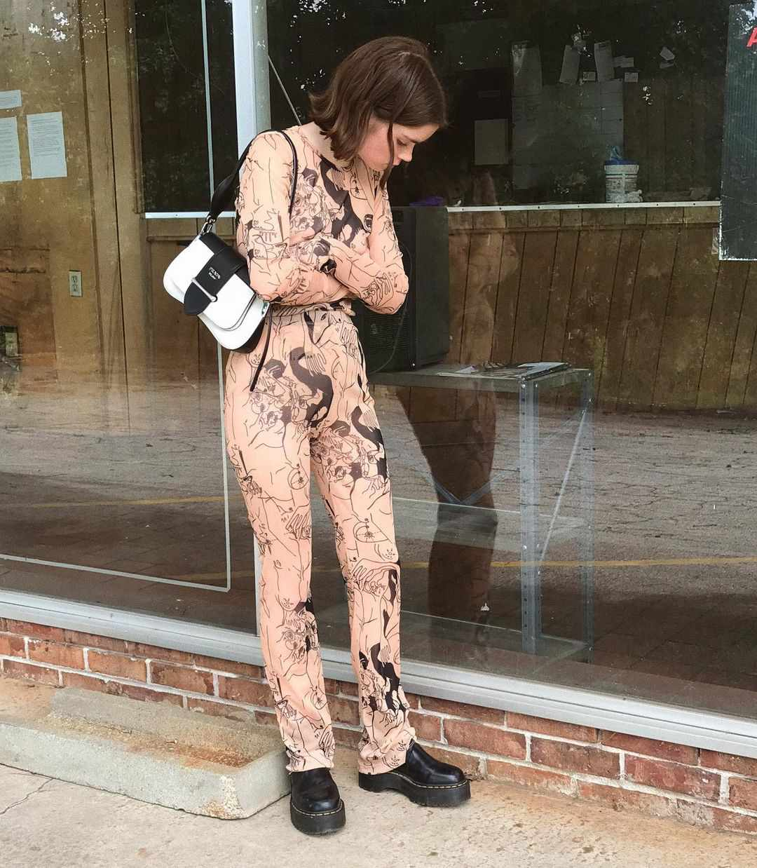Dr. Martens Outfits Bodysuit Reese Blutstein Street Style