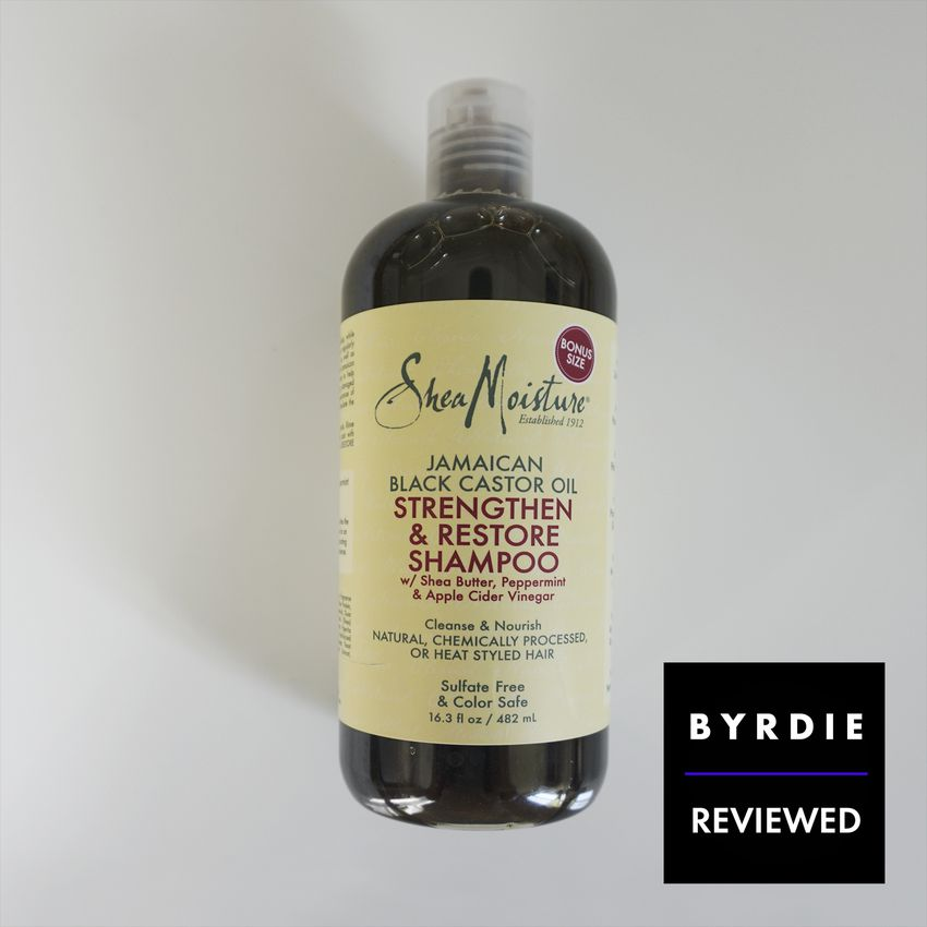 Sheamoisture Jamaican Black Castor Oil Strengthen & Restore Shampoo