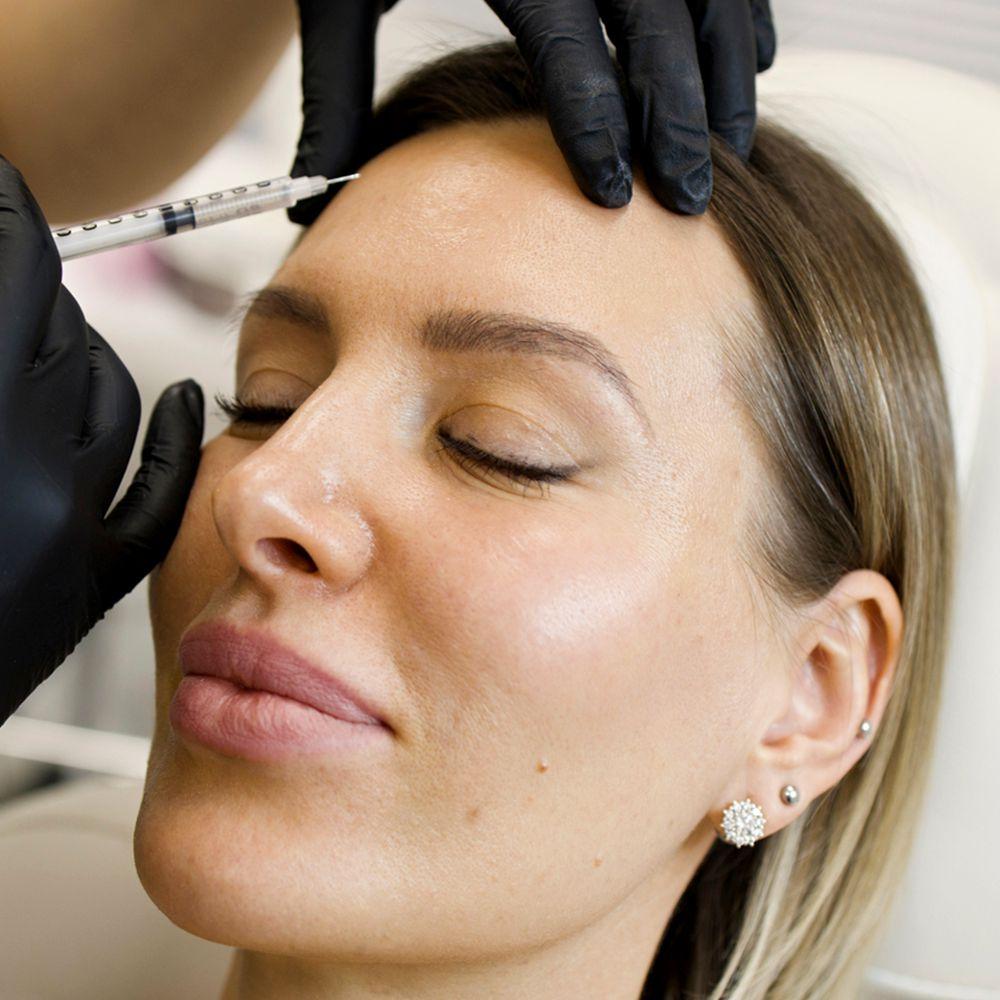 facial botox injection