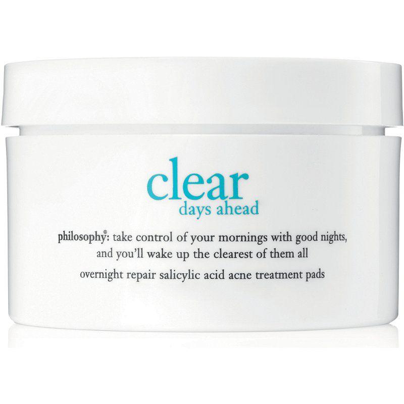 Philosophy Clear Days Ahead Overnight Repair Salicylic Acid Acne Treatment