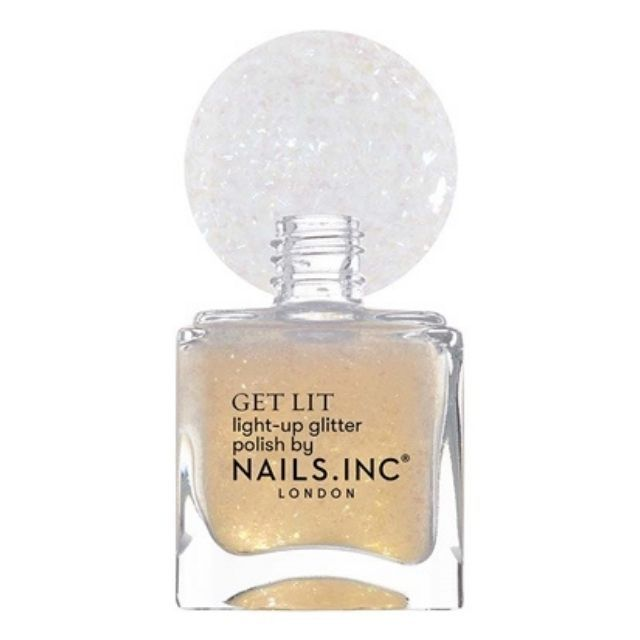 Nails Inc. Be Merry and Bright Light-Up Glitter Nail Topper
