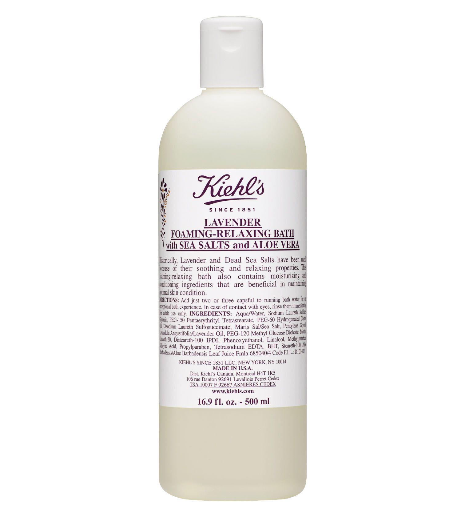 Kiehl's Lavender Foaming-Relaxing Bath