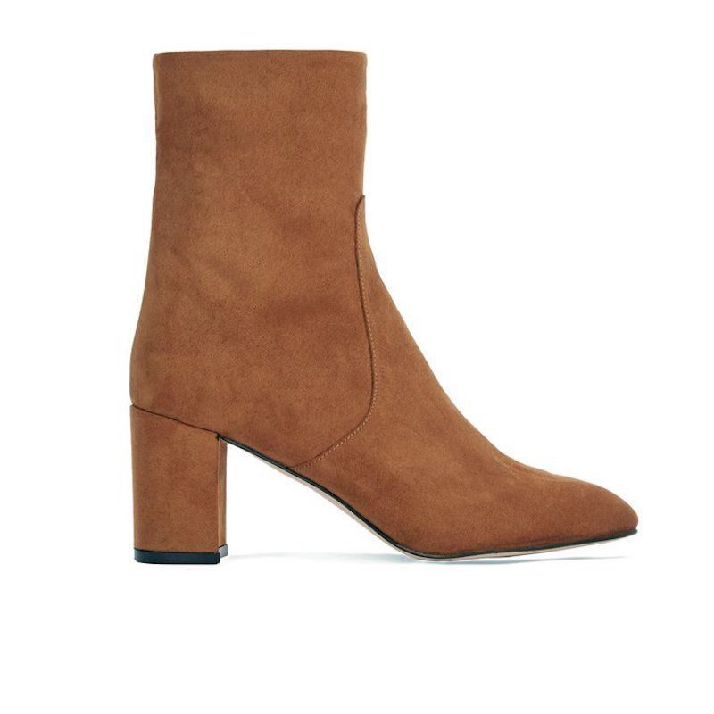 Gaby Block Heeled Ankle Boot