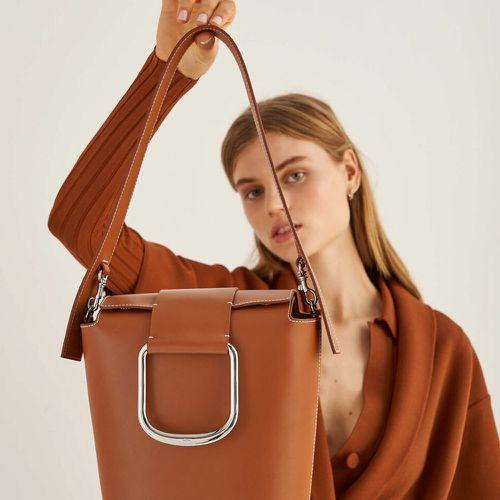 Fall Handbag Shapes Oroton Cole Bucket Bag