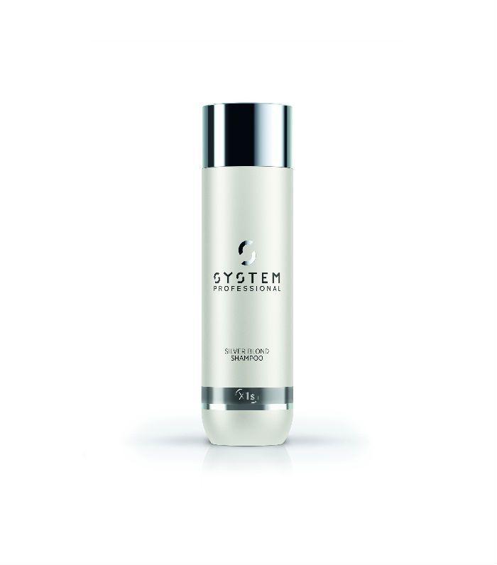 best purple shampoos: System Professional Silver Blond Shampoo