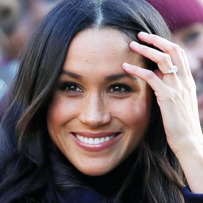Best hair serum: Megan Markle shiny hair