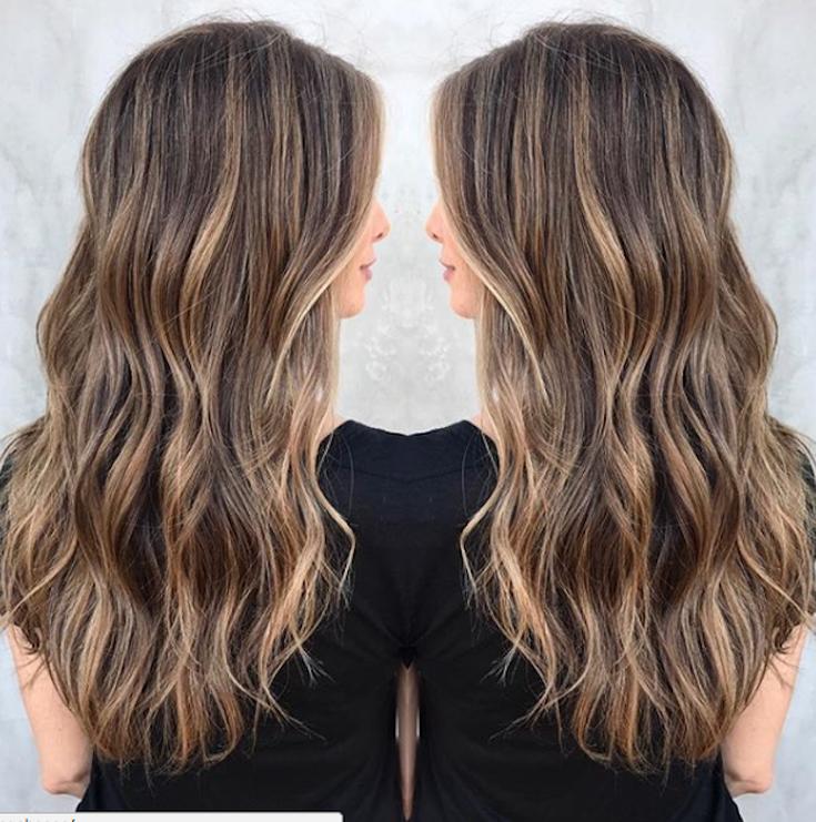 25 Stunning Examples Of Balayage Brown Hair