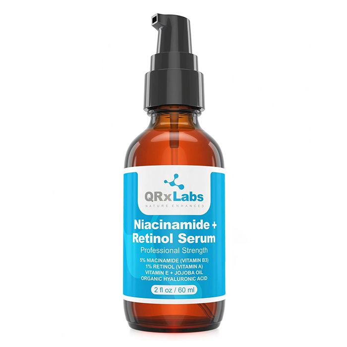 QRx Labs Niacinamide + Retinol Serum