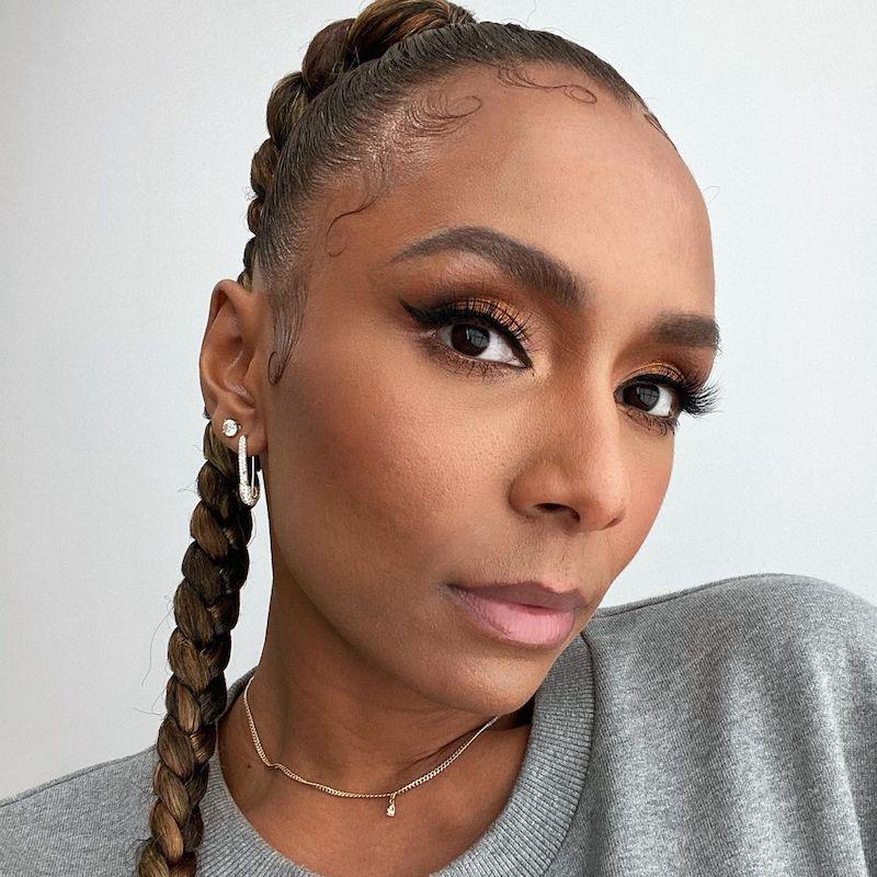 Short Medium Long Black Hairstyles Slick Ponytail Braid Janet Mock