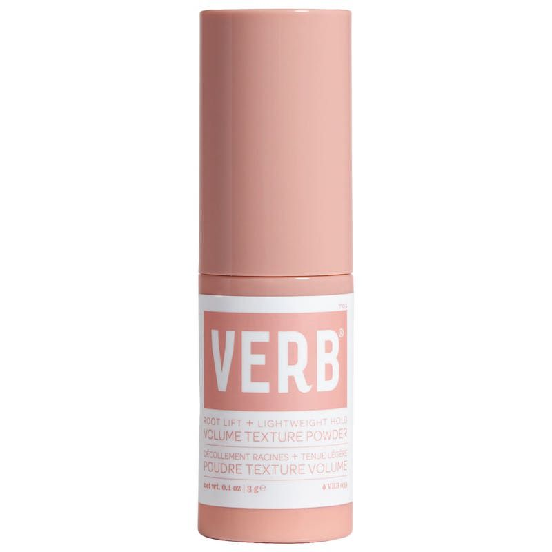 Powder in pink bottle