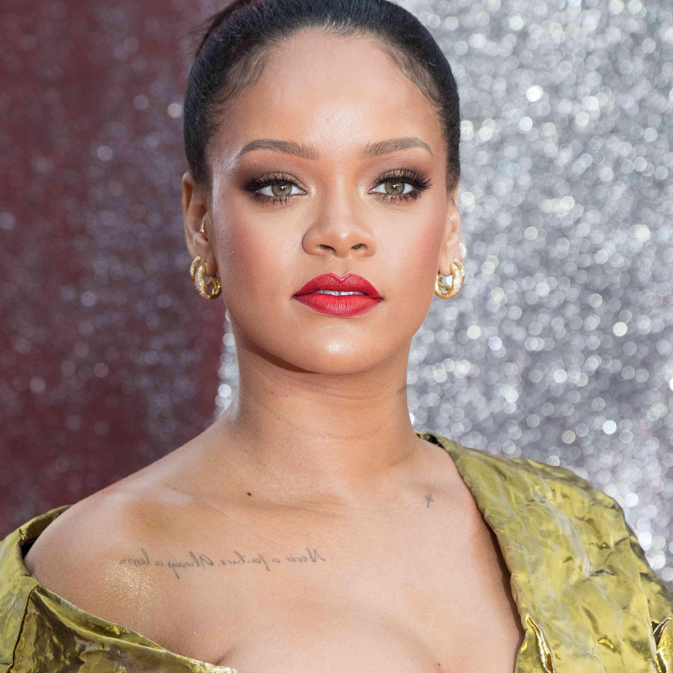 Rihanna Prom Hairstyles