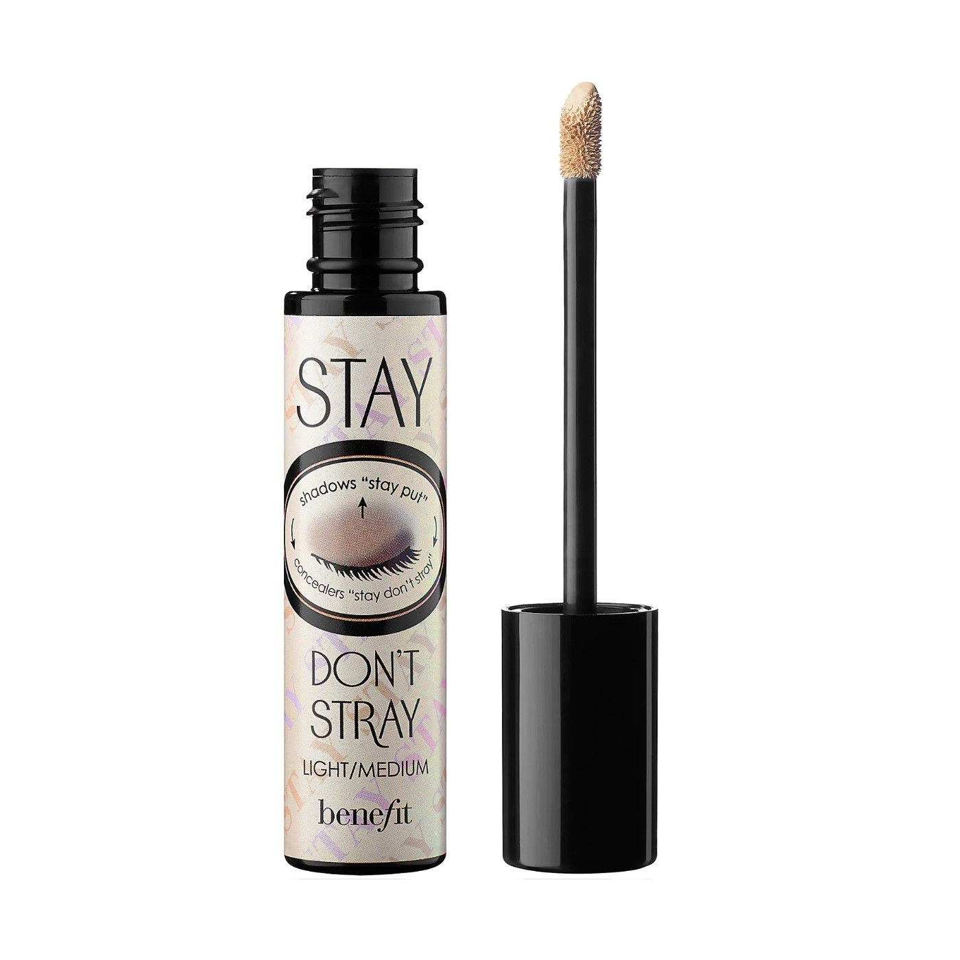 Stay Don't Stray 360 Degree Stay Put Eyeshadow Primer on a white background.