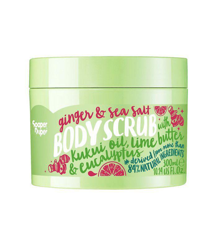 British beauty brands: Soaper Duper Ginger And Sea Salt Body Scrub