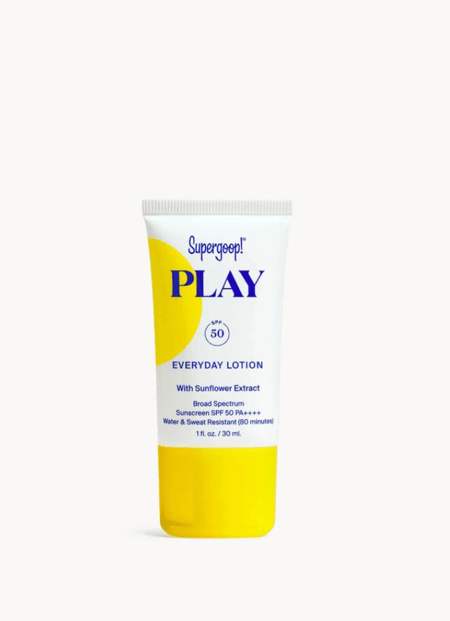 supergoop play sunscreen