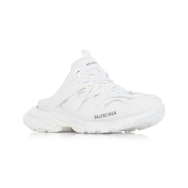 Track Rubber Mesh Slip-On Sneakers