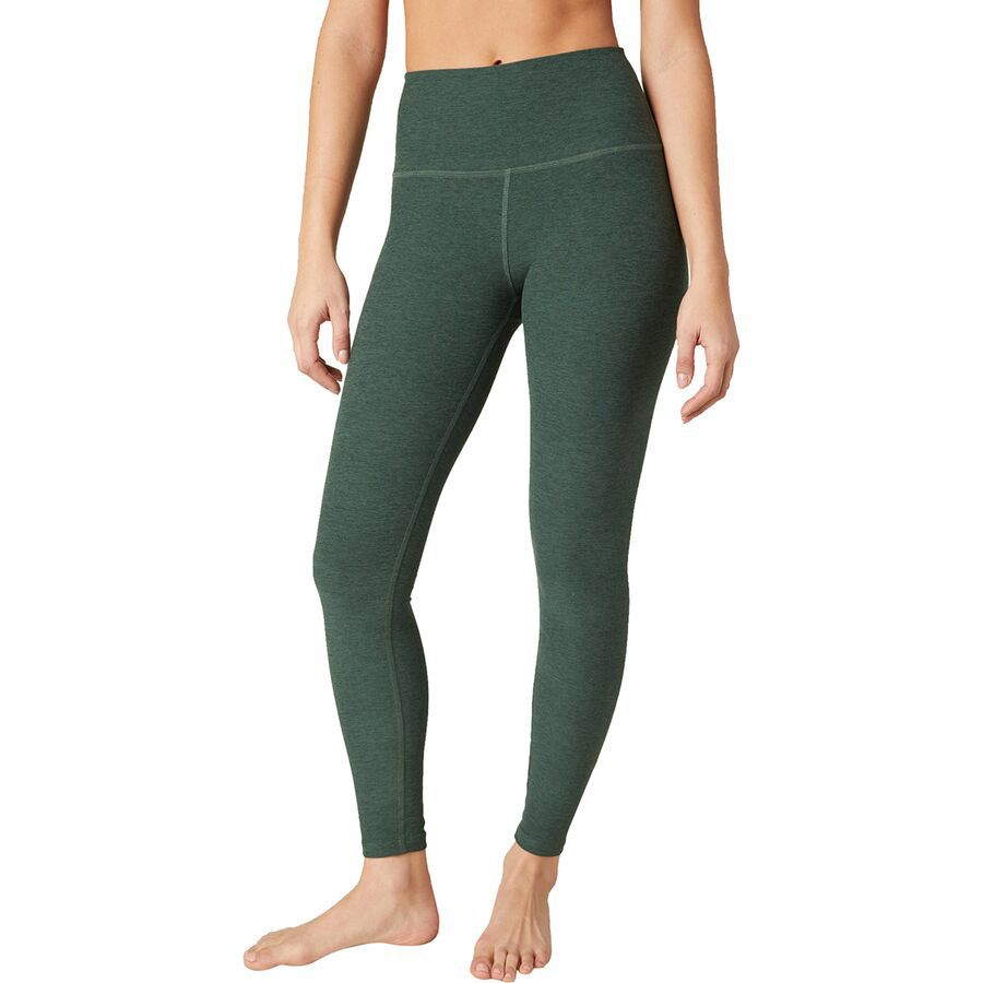 Beyond Yoga spacedye leggings in green ivy