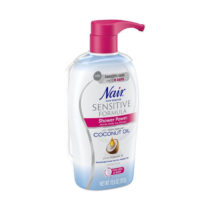 Nair Shower Power Sensitive Formula with Coconut Oil