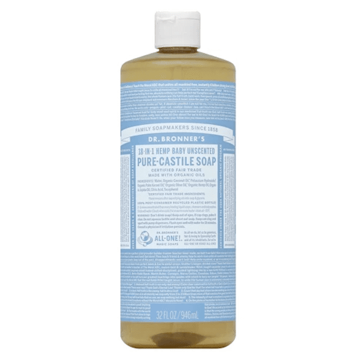 Unscented Pure Castile Soap