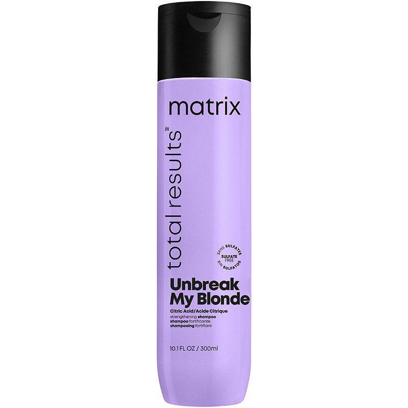 matrix total results unbreak my blonde sulfate-free strengthening shampoo