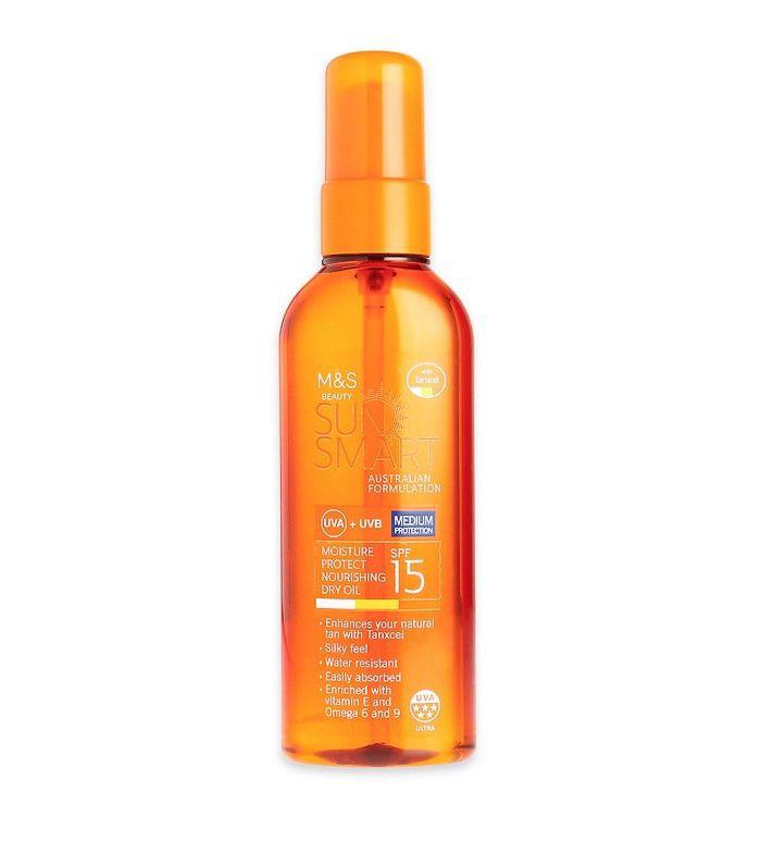 Marks and Spencer Sun Smart Moisture Protect Nourishing Dry Oil SPF 15