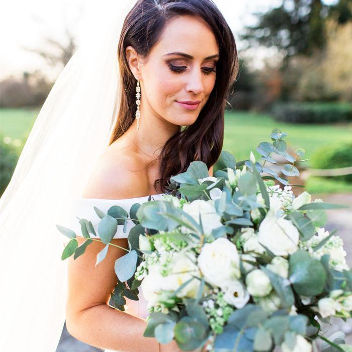best wedding perfumes: Adele Mayo on wedding day
