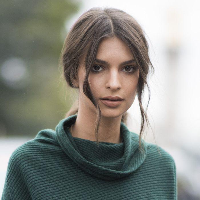 Emily in Green Sweater