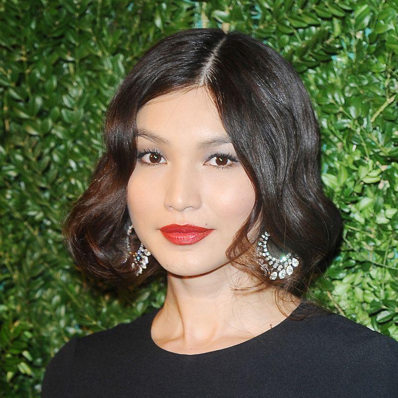 Brown Hair Color Gemma Chan