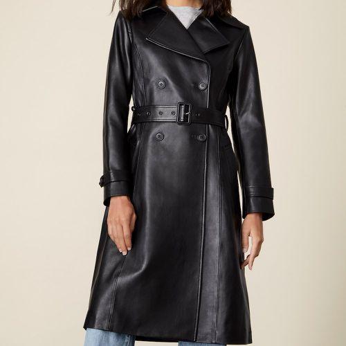 Italic Margot Leather Trench Coat