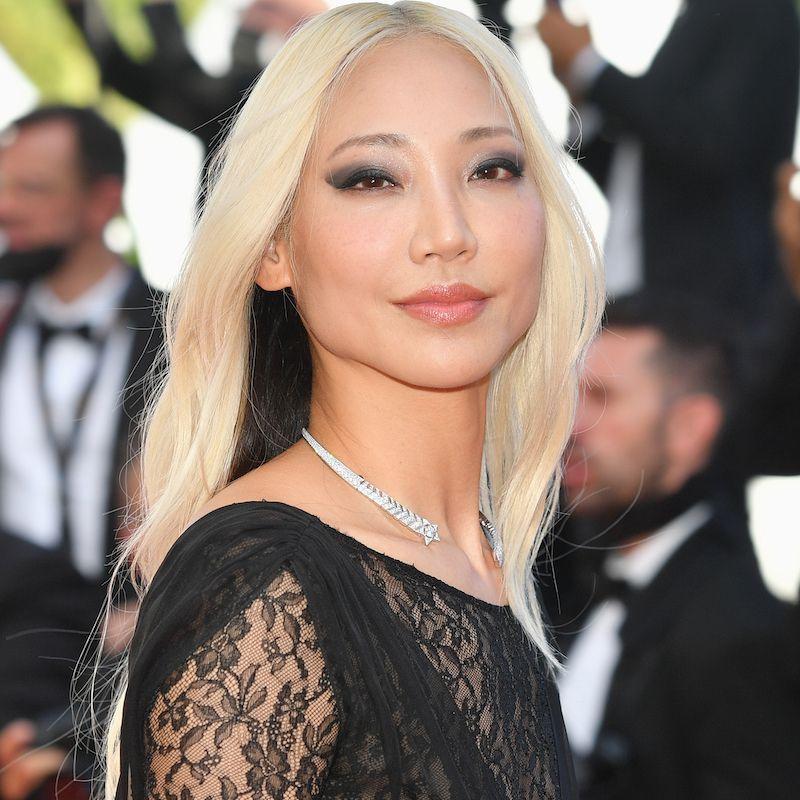 White Blonde Hair Soo Joo Park