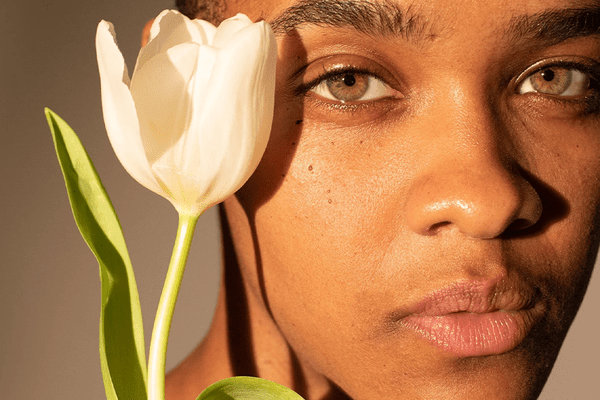 Skin and flower