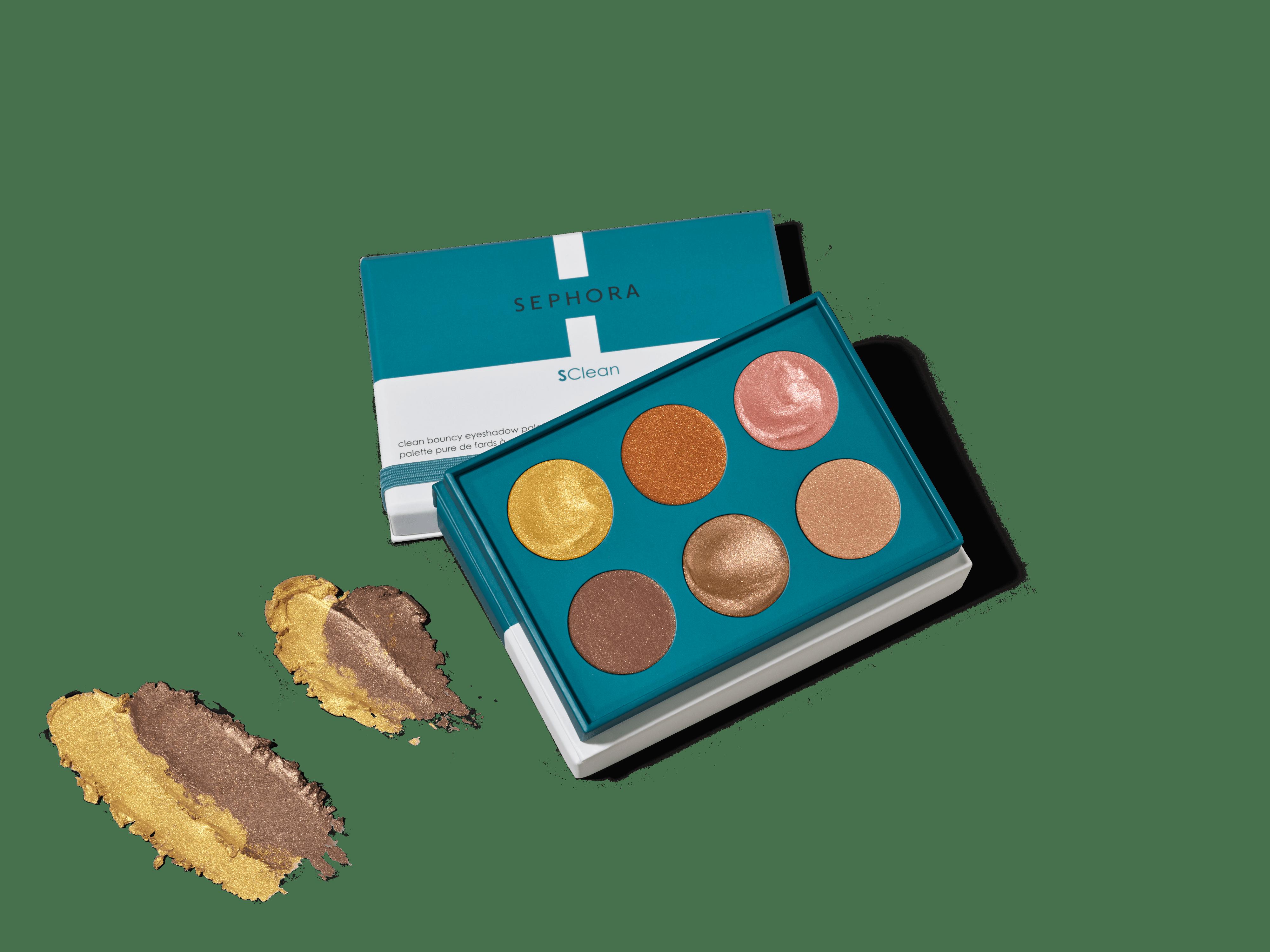 Bouncy eyeshadow palette