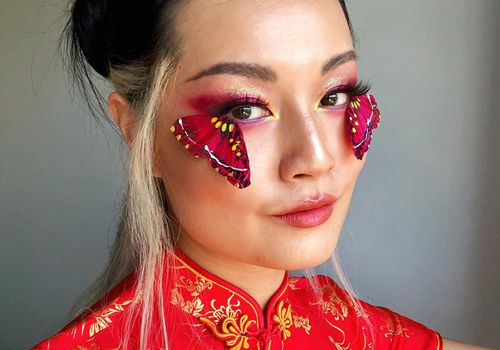 Butterfly Makeup Look