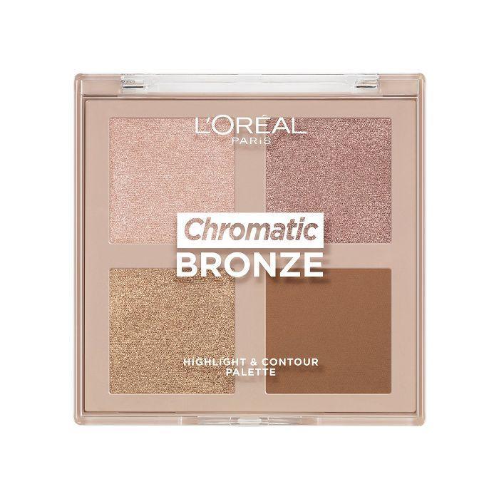 L'Oréal Paris Chromatic Bronze Highlight & Contour Palette