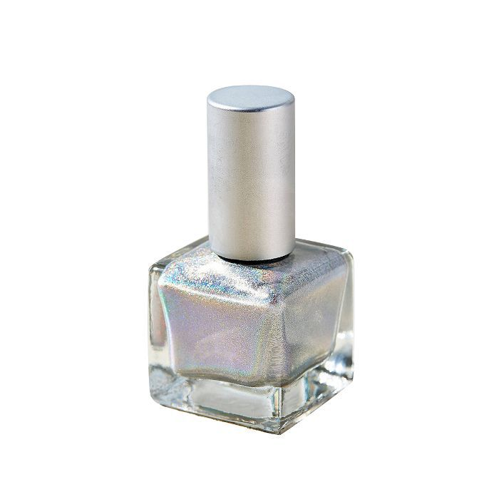 Urban Outfitters Hologram Nail Polish in Silver