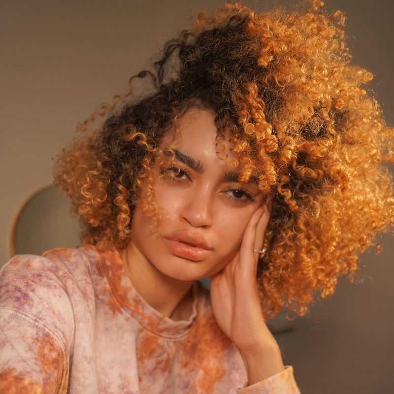 Brown Ombré Hair Janibell Rosanne