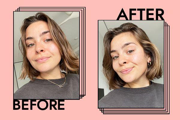 Conair InfinitiPro Hair Dryer Results on Emily Algar