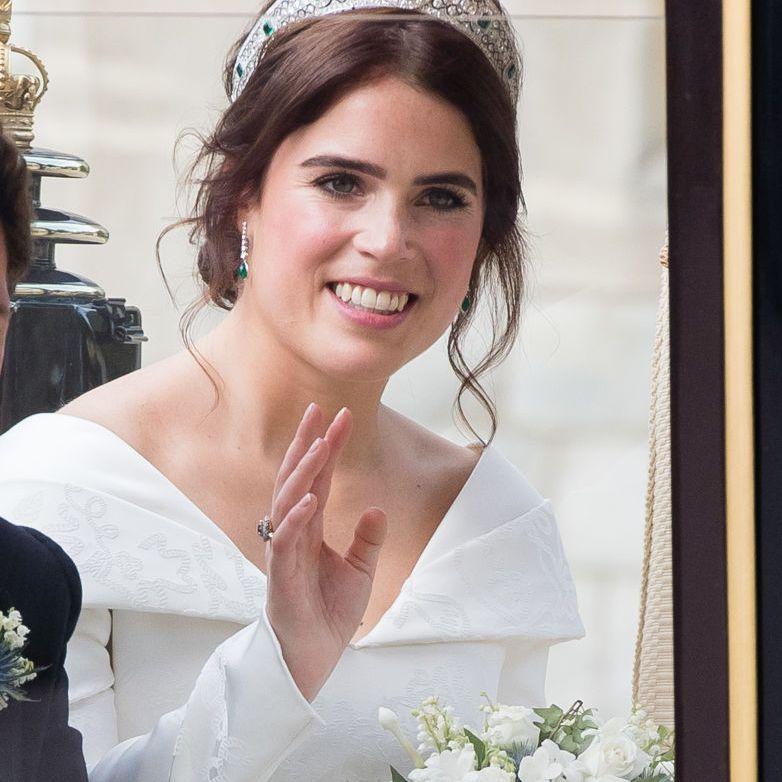 Princess Eugenie on her wedding day