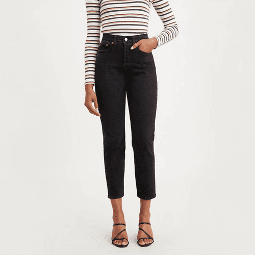 Ankle Fit Levi's Wedgie Jeans, Wild Bunch Black