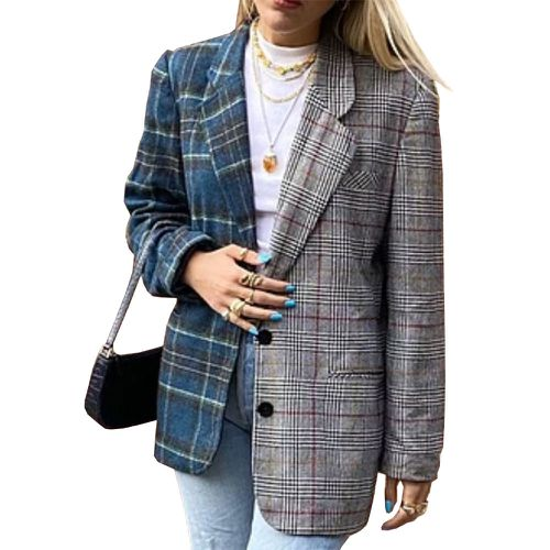 The Marcon Court Project Reworked Vintage Two Faced Blazer