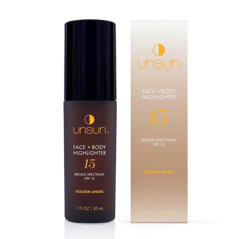 Unsun Golden Angel Face + Body Highlighter SPF 15